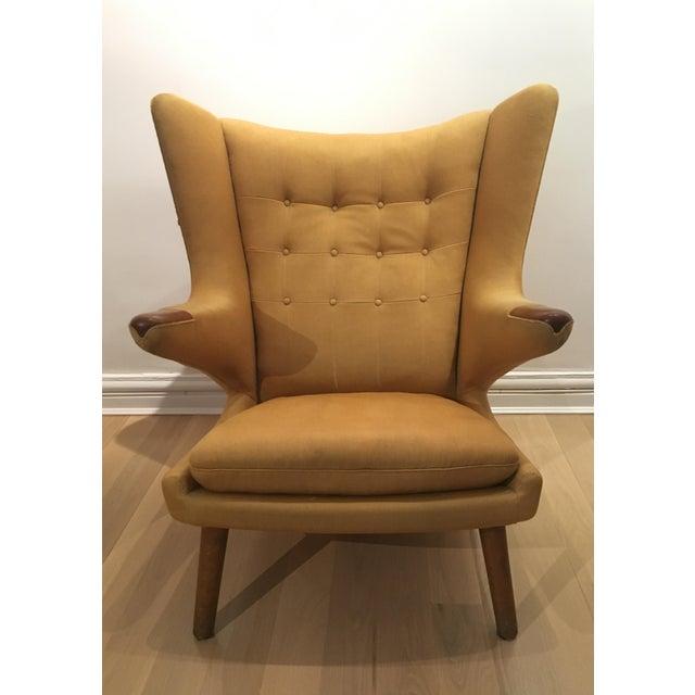 Hans Wegner Papa Bear Chair - Image 3 of 9