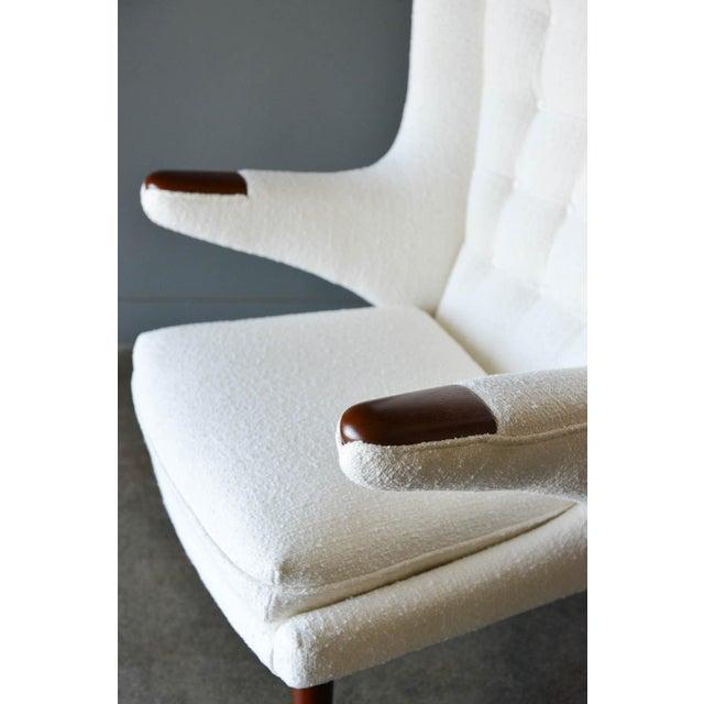 """1950s Hans Wegner Model Ap19 """"Papa Bear"""" Chair For Sale - Image 10 of 13"""