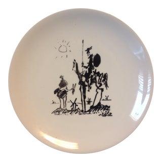 Picasso 'Don Quixote' Ceramic Plate