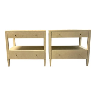 Transitional Made Goods Conrad Nightstands - a Pair For Sale
