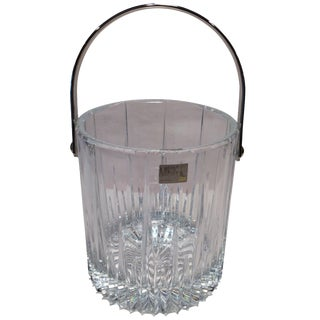 Mikasa Leaded Crystal Ice Bucket Made in Slovenia