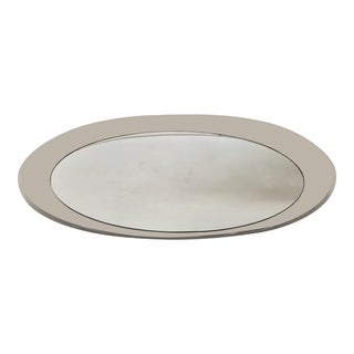 Vintage Lucite & Mirror Tray For Sale