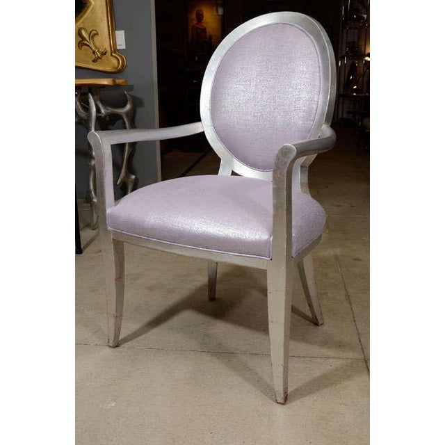 Louis XVI Style Armchairs - A Pair - Image 2 of 7