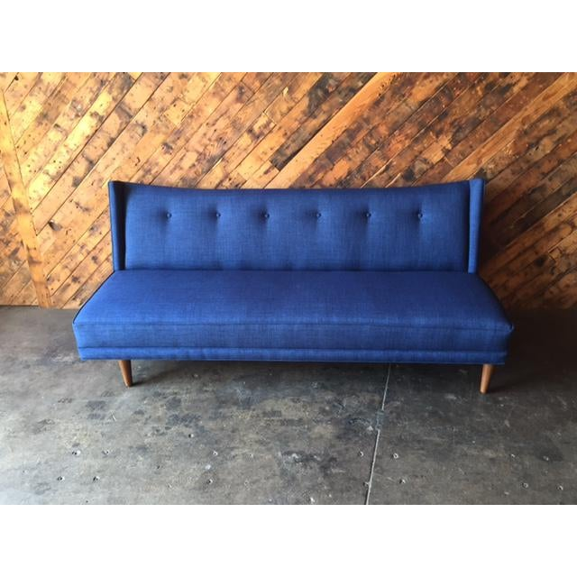 Mid-Century Style Custom Sofa - Image 3 of 9
