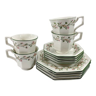English Luncheon Set, 12pcs. For Sale