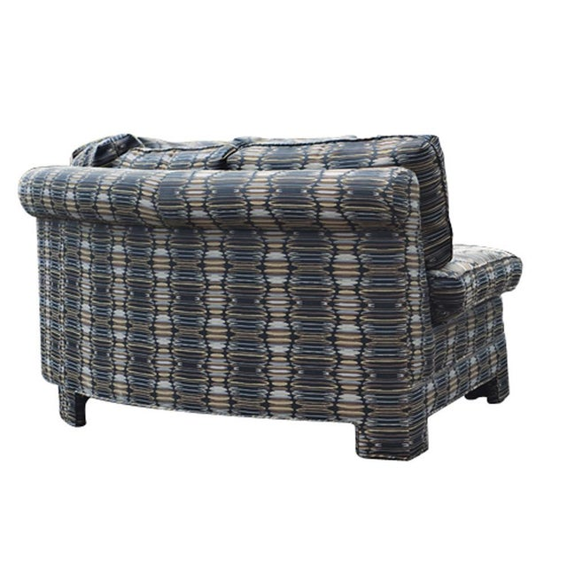 Vintage Milo Baughman Circular Sectional Sofa For Sale In Houston - Image 6 of 9