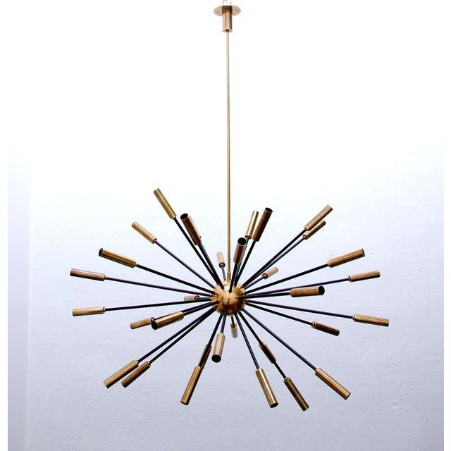 Elliptical Sputnik Chandelier - Image 3 of 10