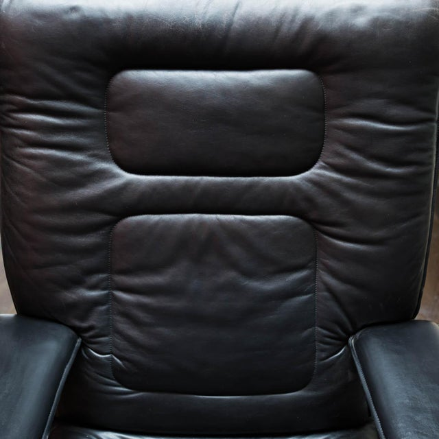 Pace Collection Mariani Leather Executive Chair For Sale In New York - Image 6 of 8