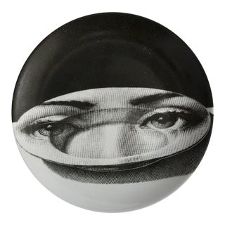 Piero Fornasetti Plate # 118 Made in Italy For Sale