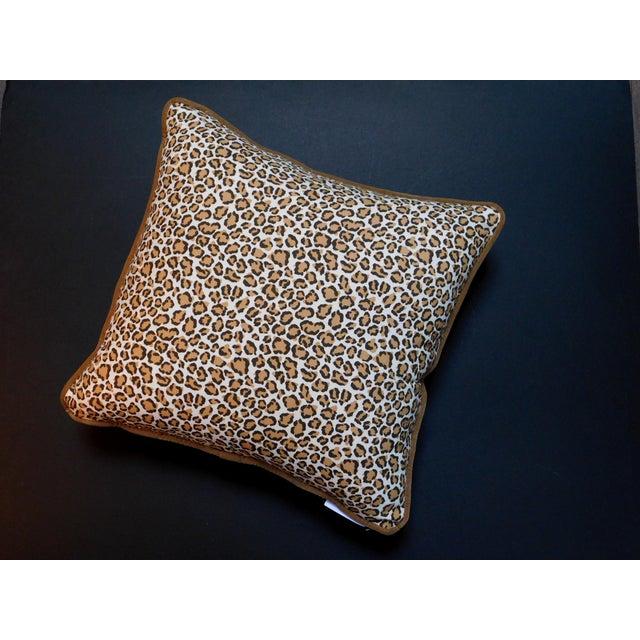 Safari Modern Cheetah Print Pillow For Sale - Image 3 of 6