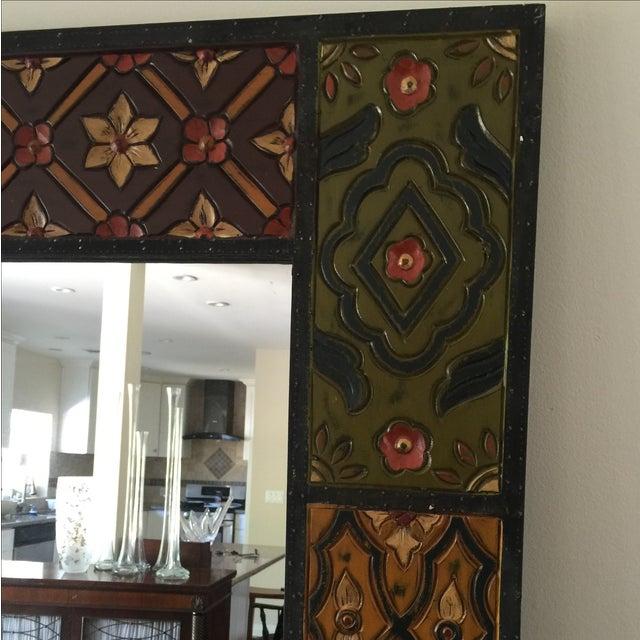 Vintage Wood Mirror - Image 4 of 8