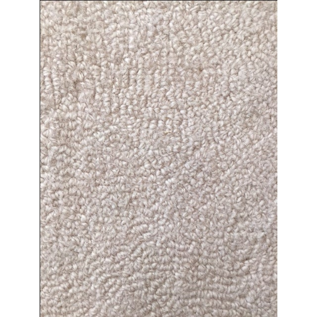 Bone White Designer Wool Rug- 11' x 14' - Image 4 of 7