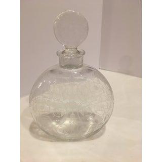 "Antique Baccarat ""Michelangelo"" Pattern Perfume Bottle Preview"