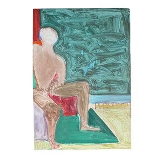 "Gary Lee Shaffer ""Figurative Study #1"" Monotype Print, 1984 1984 For Sale"
