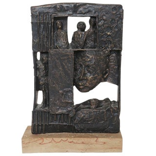 Poignant William Meyerowitz Figural Sculpture For Sale
