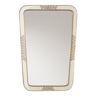 Vintage Mirror in the Manner of Jean Royere For Sale