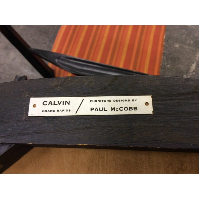 Paul McCobb Calvin Furniture Dining Chairs - 4 For Sale - Image 9 of 10
