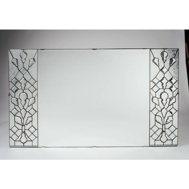 Opulent Hollywood Regency Mirror With Large Cut Crystals, 1940's For Sale - Image 11 of 12