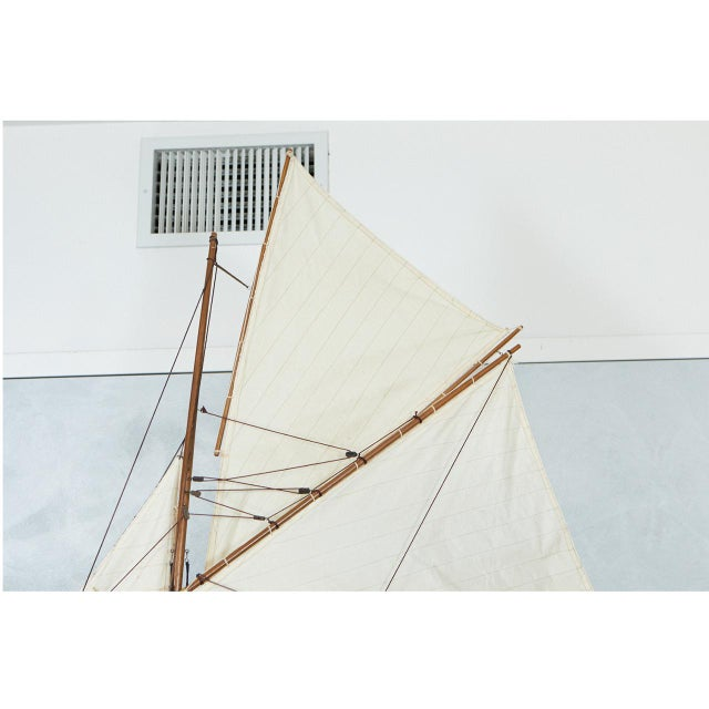 Large Model Sailing Boat For Sale - Image 4 of 10