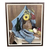 Image of Still Life Oil Painting For Sale