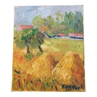 French Impressionist Landscape Painting on Canvas