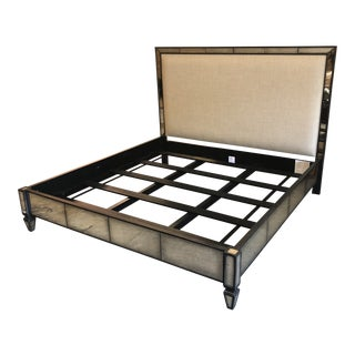 Industrial Century Furntiture Maddox Iron Bedframe For Sale