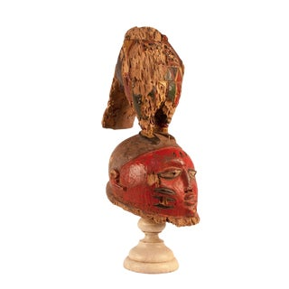 19th Century Antique Nigerian Igbo Dance Mask For Sale