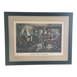 Currier & Ives Lithograph, Framed, Ready to Hang For Sale