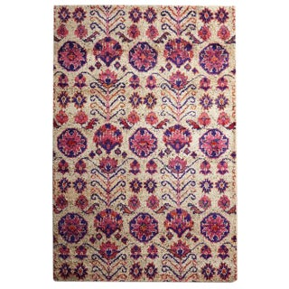 Anthropologie Hand Knotted Rug - 9' × 12′