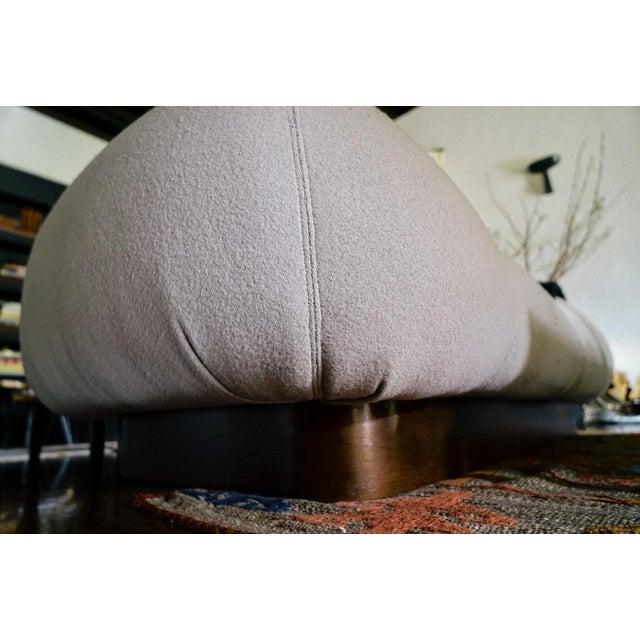 1970's Modern Italian Sofa For Sale - Image 5 of 10