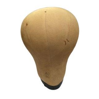 Antique Canvas Hat Form For Sale