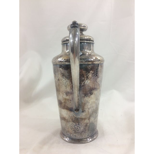 Art Deco Silver Martini Shaker For Sale - Image 4 of 6