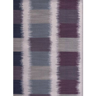 Knoll Ikat Square in Chili Blue & Purple - 6.25 Yards