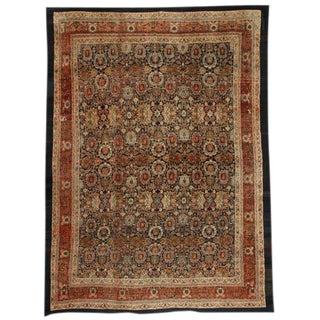 Antique 19th Century Oversize Persian Bibikabad Carpet