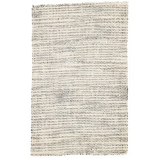 Jaipur Living Almand Natural White/ Black Area Rug - 9′ × 12′ For Sale