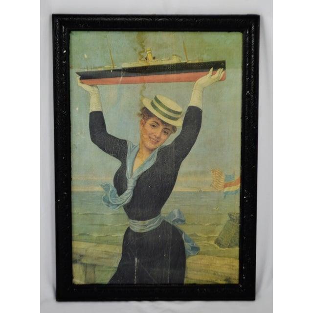 Victorian Jan Van Beers Framed Print For Sale - Image 11 of 11