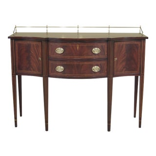 Henkel Harris Federal Style Mahogany Sideboard For Sale