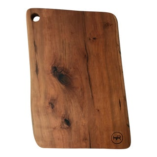 Live Edge Cherry Cutting Board / Serving Board