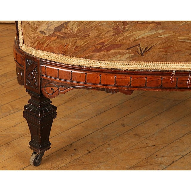 19th Century Rosewood Chairs - A Pair For Sale In Philadelphia - Image 6 of 7