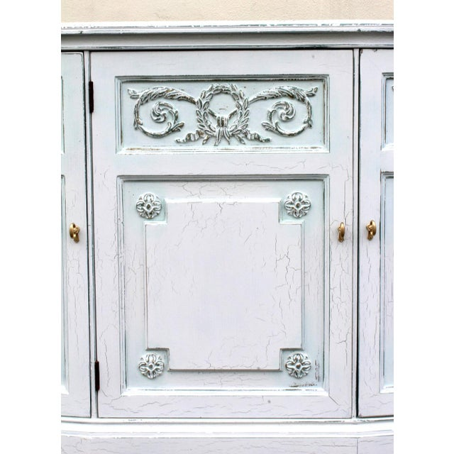 Henredon Mid-Century Neoclassical Style Cabinet For Sale - Image 5 of 11