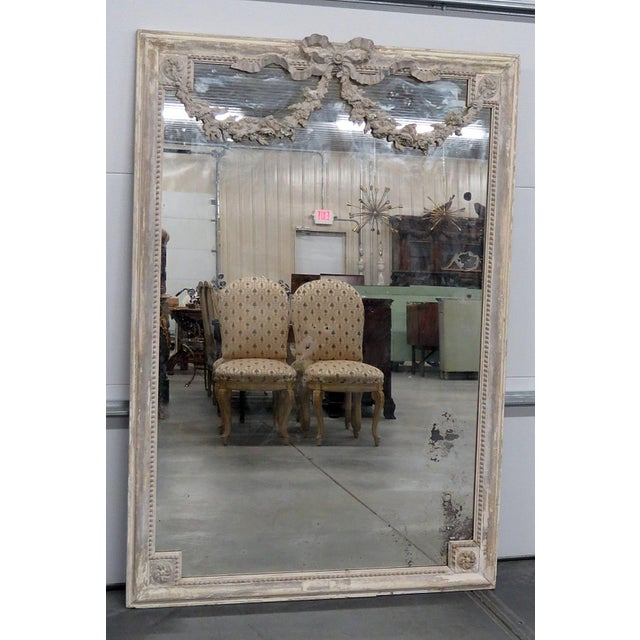 Louis XVI Style Wall Mirror For Sale - Image 12 of 12