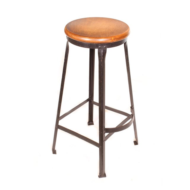 Factory Shop Stool For Sale - Image 10 of 13