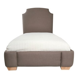 Serena & Lily Fillmore Upholstered Twin Bed For Sale