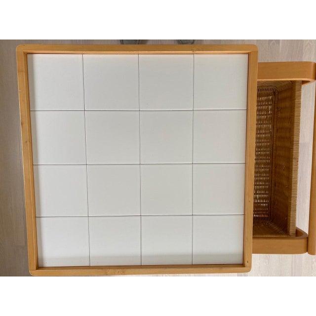 Wood Artek Alvar Aalto 900 - Tea Cart White For Sale - Image 7 of 9