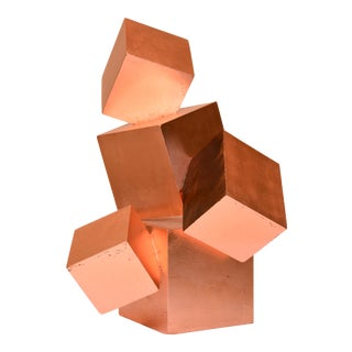 Copper Pyrite Tabletop Sculpture For Sale