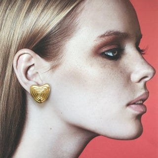 Heart Earrings by Margaretha Ley for Escada Preview