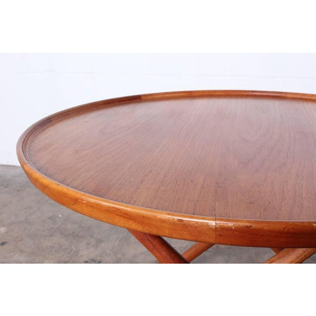 Modern Egyptian Table by Mogens Lassen for A.J. Iversen For Sale - Image 3 of 10