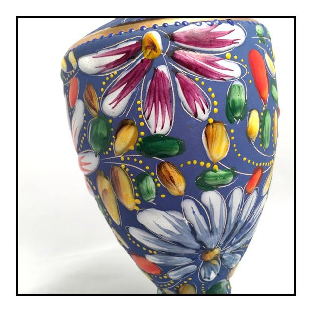 Bequet Vintage Belgium Porcelain Vase by Hubert Bequet For Sale - Image 4 of 8