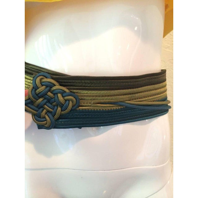 Late 20th Century Vintage Yves Saint Laurent Russian Collection Passementerie Tassel Belt Ysl For Sale - Image 5 of 12