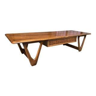 Mid Century Modern Lane Furniture Perception Coffee Table